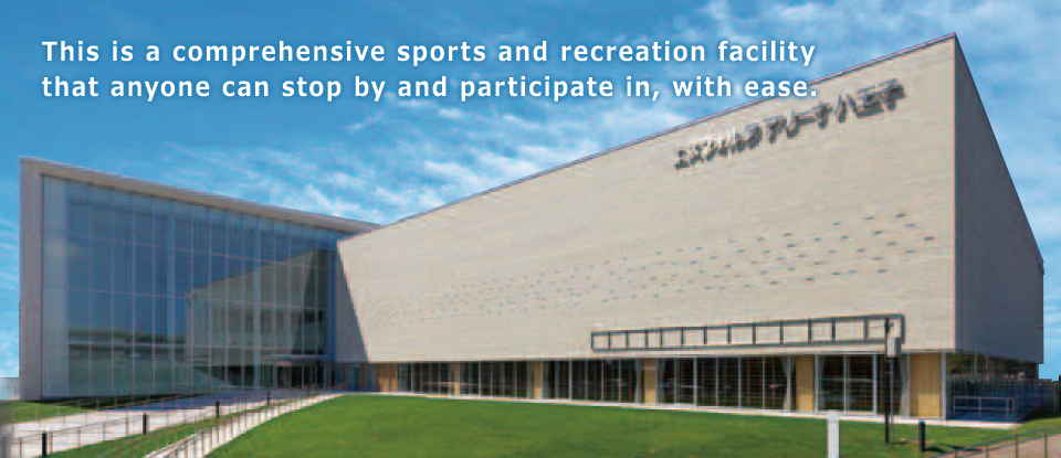 This is a comprehensive sports and recreation facility that anyone can stop by and participate in, with ease.